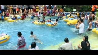 AMANZI WATERPARK PALEMBANG - FreezyFun 24Des 4Jan