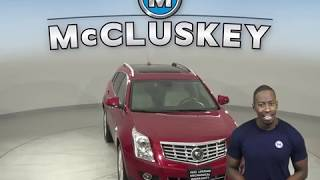A14616TA Used 2016 Cadillac SRX Premium FWD 4D Sport Utility Red Test Drive, Review, For Sale -