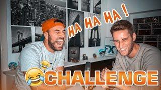 WER LACHT VERLIERT 😂 (Flachwitz Challenge) + BESTRAFUNG |  FaxxenTV