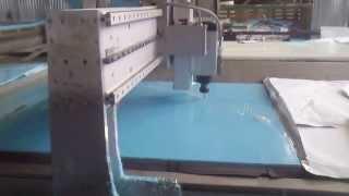 Производство купели тм POLEX POOLS - раскрой элементов(Производство купелей для бань и саун из полипропилена тм POLEX POOLS., 2013-09-26T19:14:44.000Z)