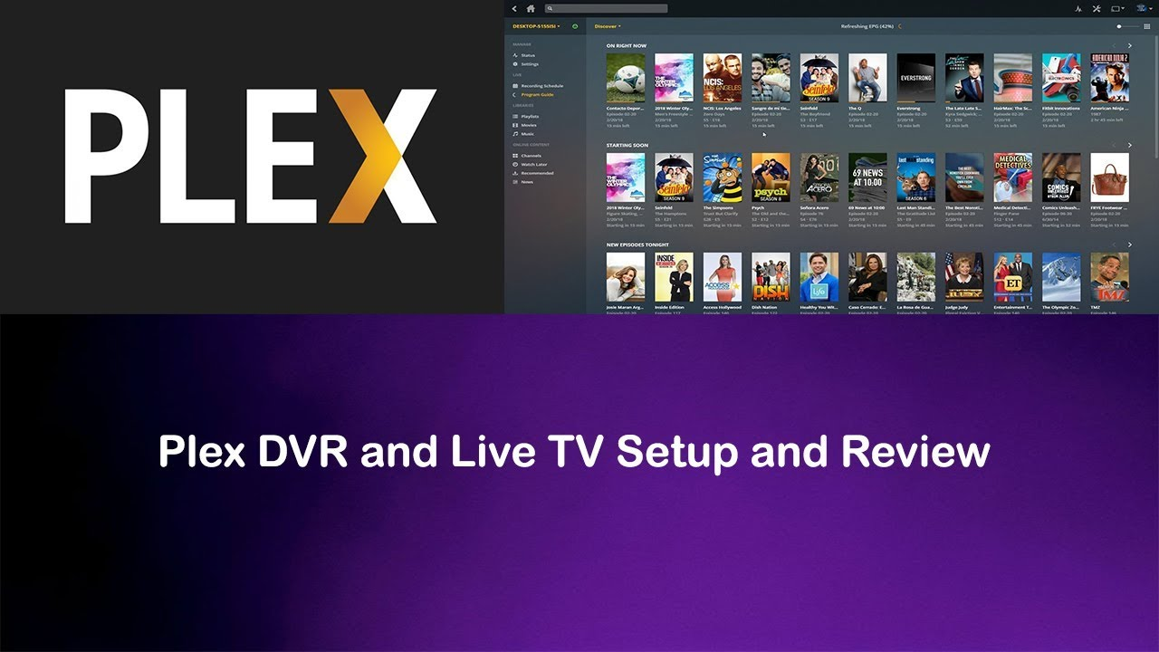 Plex Live TV and DVR Setup and Review - Cut The Cord!