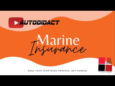 Marine Insurance | Marine Perils and losses | Insurance Claim Settlement Process | Autodidact | IT#7