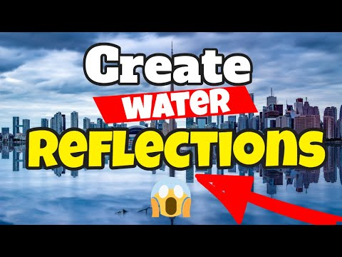 Landscape Photography | Create water reflections in Photoshop
