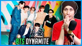 REAGINDO A BTS (방탄소년단) 'Dynamite' Official MV