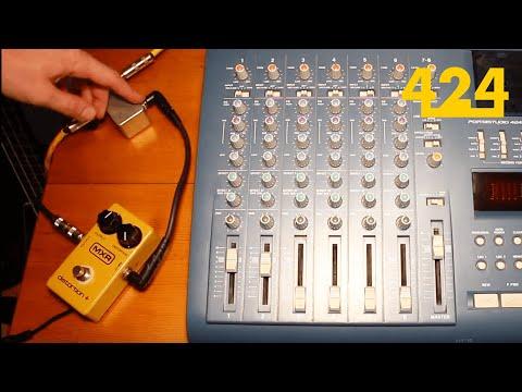 4-track Recording Techniques: Splitting a Bass Signal   424recording.com