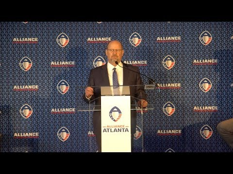 Introducing Alliance Atlanta Head Coach: Brad Childress & Offensive Coordinator: Mike Vick