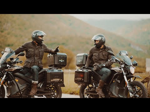 Movie | fully electric motorbike adventure to the Iberian Pole 2019