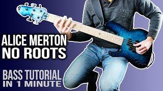 Baixar Alice Merton - No Roots /// BASS TUTORIAL [Play Along Tabs]