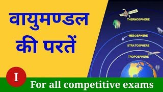 Atmosphere layers in hindi | Vayumandal ki paraten | Atmosphere layers | NEXT EXAM
