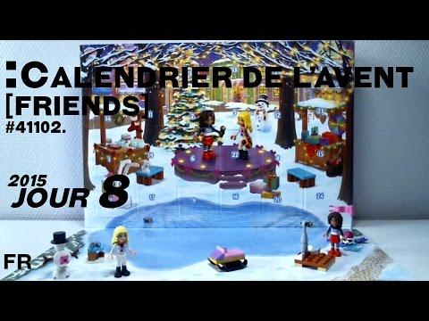 calendrier de l 39 avent lego friends jour 8 2015 fran ais youtube. Black Bedroom Furniture Sets. Home Design Ideas