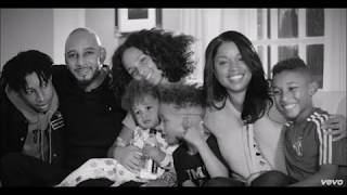 ALICIA KEYS AND MASHONDA BLENDED FAMILY?