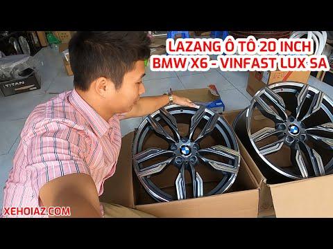 Thực tế Lazang ô tô 20 icnh lắp BMW X6, Vinfast Lux SA cực đẹp