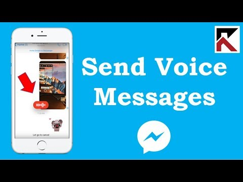 How To Send A Voice Message In Facebook Messenger IPhone