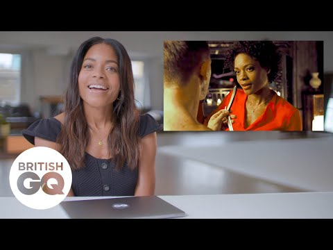 Naomie Harris on shaving Daniel Craig in Skyfall | British GQ