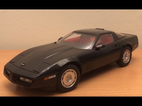Review Of My 1/18 Scale 1986 Chevrolet Corvette By AutoArt
