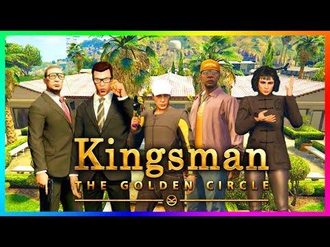 "GTA ONLINE ""KINGSMAN: THE GOLDEN CIRCLE"" SPECIAL - SPIES, SECRET AGENTS, JAMES BOND & MORE! (GTA 5)"