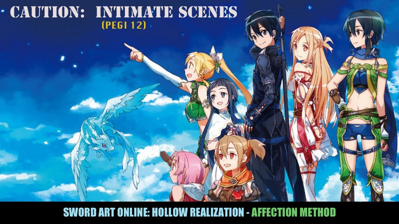 Sword Art Online Hollow Fragment Dating Spots