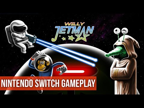 Willy Jetman: Astromonkeyu0027s Revenge - Gameplay (Nintendo Switch) HD