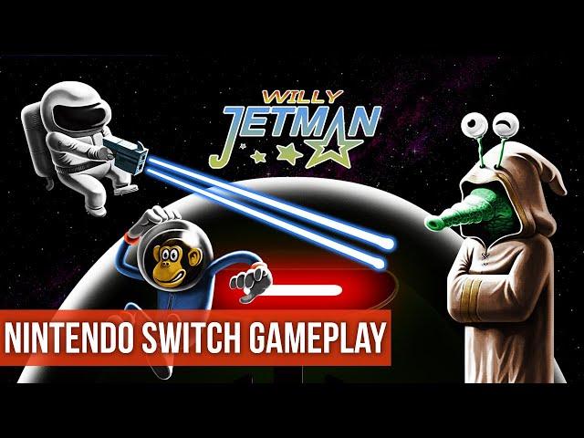 Willy Jetman: Astromonkey's Revenge - Gameplay (Nintendo Switch) HD