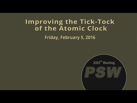 PSW 2357 Improving the Tick-Tock of the Atomic Clock |Andrew Ludlow