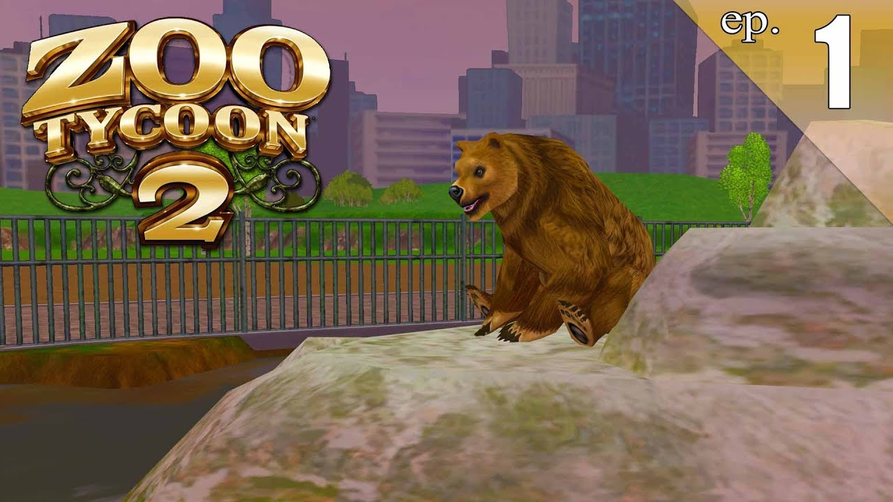Zoo Tycoon 2 - Ep  1 - Getting Ready for Planet Zoo