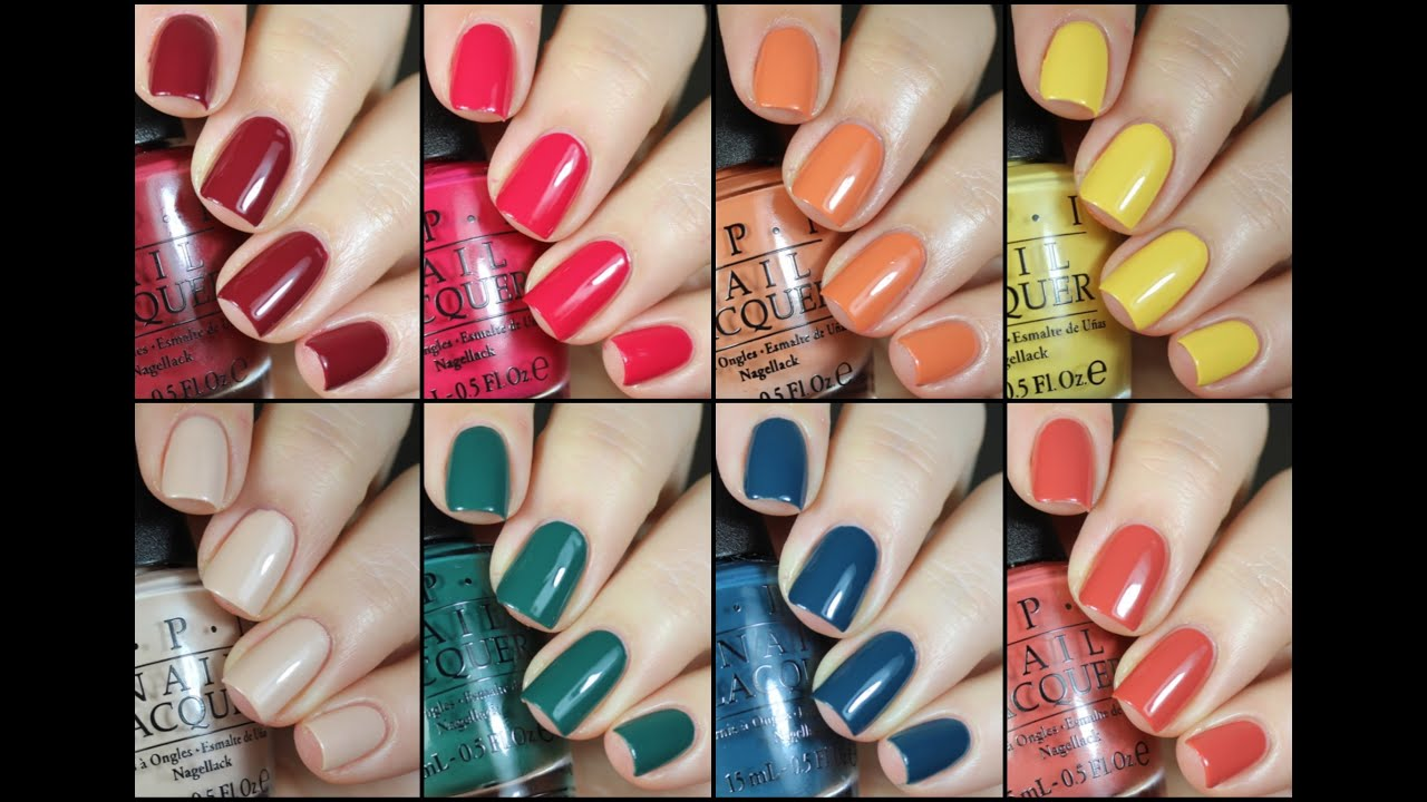 OPI Washington DC Live Swatch + Review! - YouTube