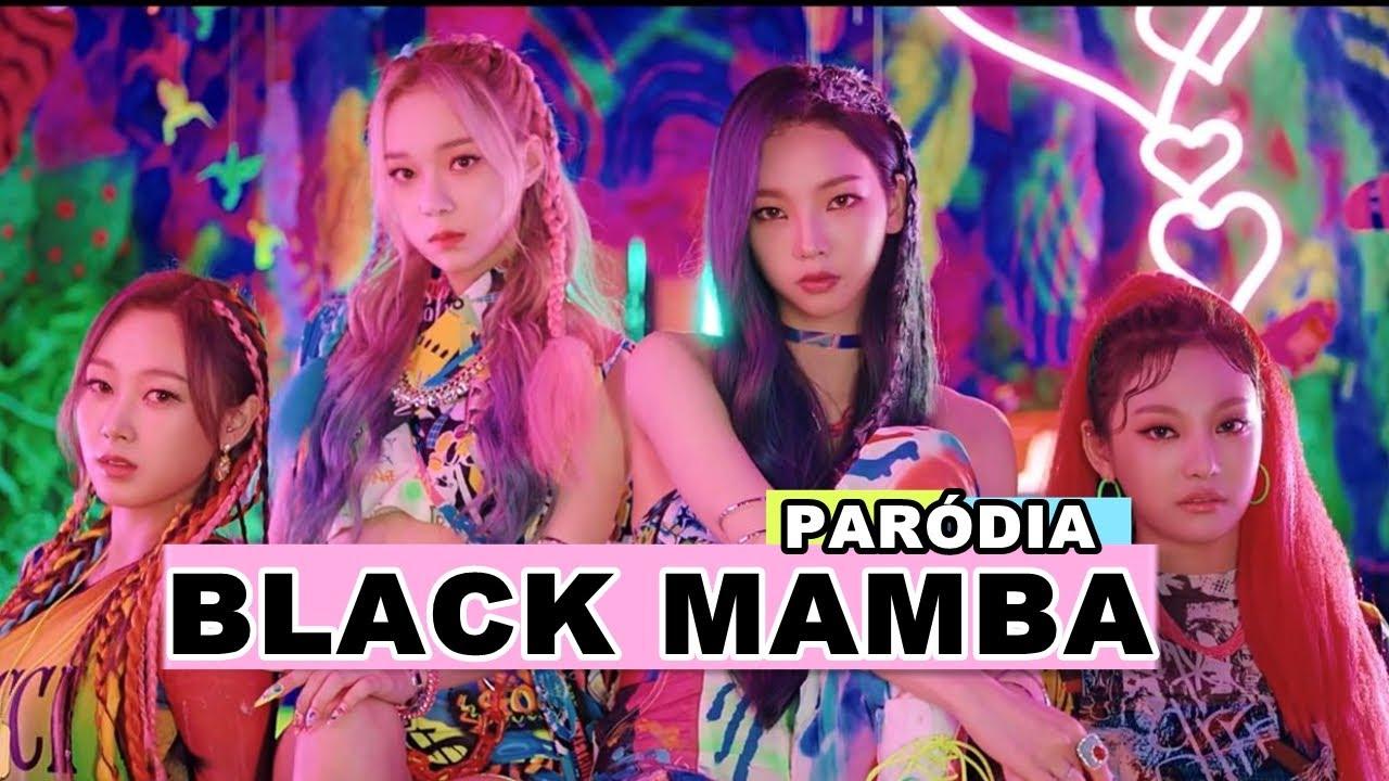 AESPA - BLACK MAMBA (PARÓDIA/REDUBLAGEM)