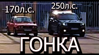 Гонка BMW 325ix vs Grand Cherokee 3.0 Diesel