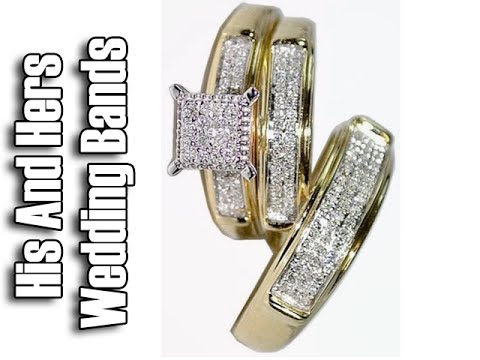 Yellow Gold Trio Wedding Sets   Trio Wedding Ring Sets Yellow Gold