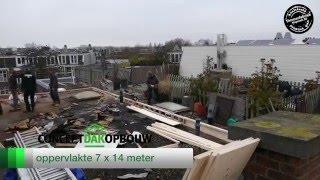Dakopbouw Amsterdam 2016 Nassaukade - Conceptdakopbouw
