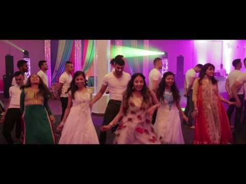 Atif and Nadia Mehndi Dance Performances