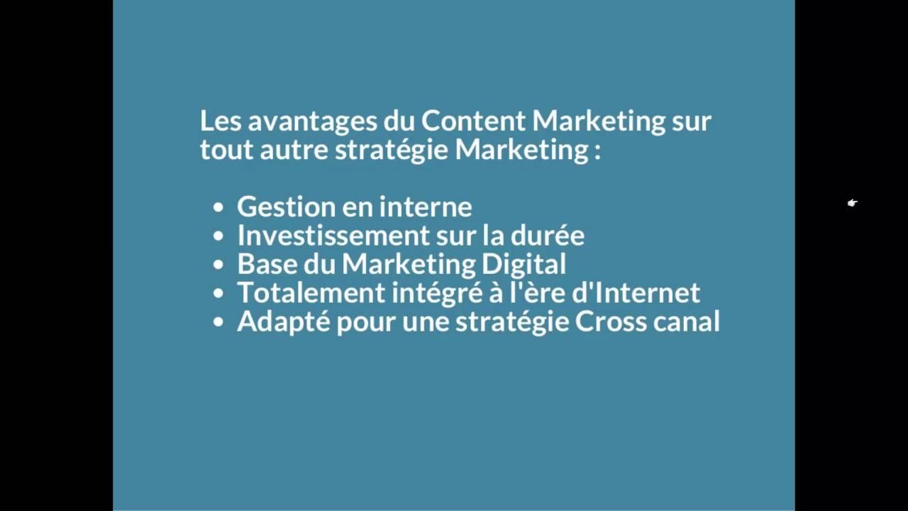 Content Marketing - Et pourquoi pas une autre stratégie ?