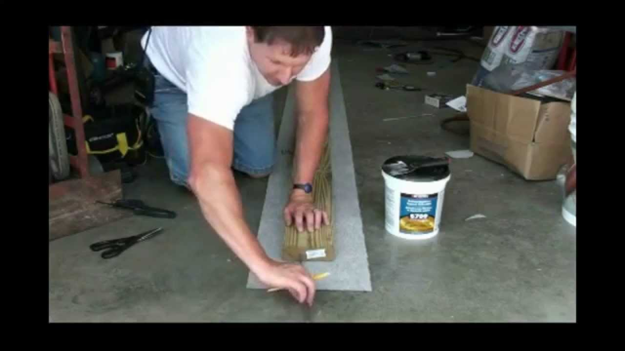 How to fix your Boat Trailer Boards and Bunk Carpet - YouTube