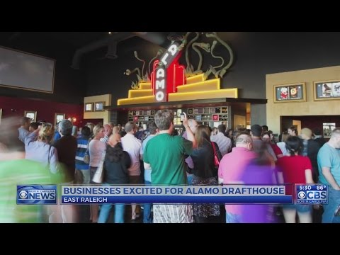 Alamo Drafthouse to open 660-seat theater with restaurant, beer hall in Raleigh
