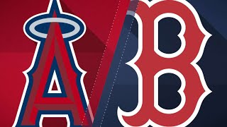 Red sox belt four homers to top angels, 9-1: 6/26/18