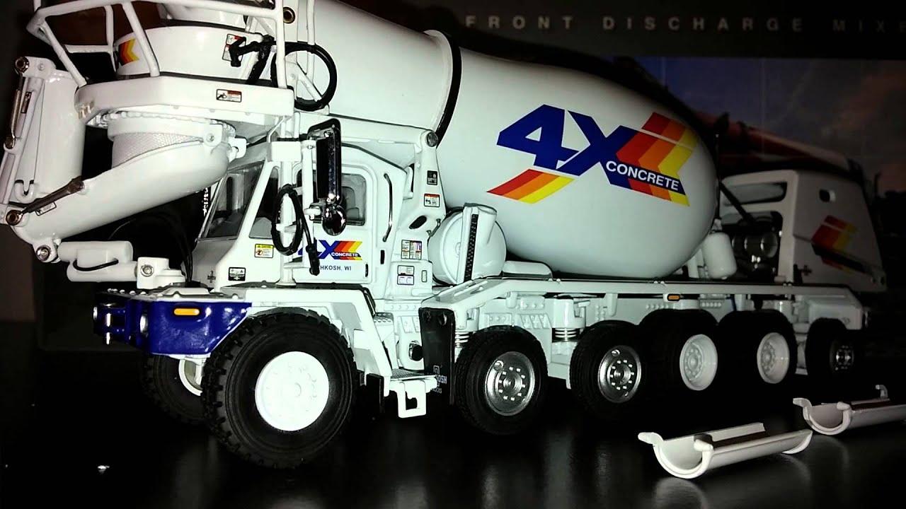 TWH Oshkosh Front Discharge Cement Mixer