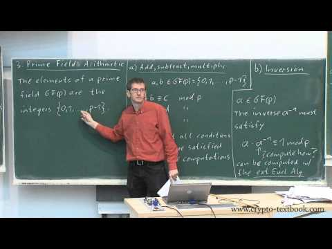 Lecture 7: Introduction to Galois Fields for the AES by Christof Paar