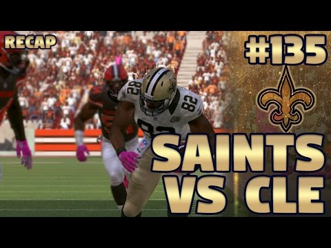 Saints @ Browns Recap (S3,G6) | Madden NFL 17 New Orleans Saints Franchise Ep. 135