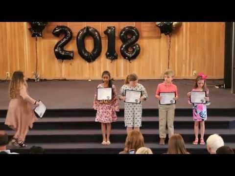 2018 HCA Elementary School Awards ~ Brunswick, GA  10