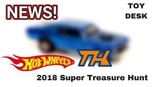 New 2018 Hot Wheels Super Treasure Hunt Revealed