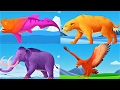 Baby Fun Puzzle Game & Explore Ice Age Animals | Educational Video For Kids