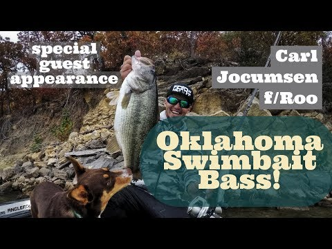 Swimbait fishing with FLW Tour Pro Carl Jocumsen