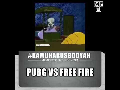 Lagu Pubg Vs Free Fire Bikin Ngakak Versi Spongebob