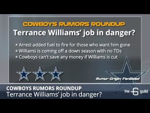 Cowboys Rumors: Terrance Williams' Future, Blake Jarwin's Potential & Adding A Veteran QB