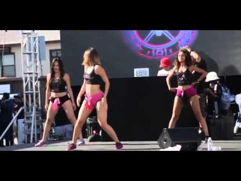 Twerking at Christina Milians We Are Pop Culture Block Party   LexTwerkOut