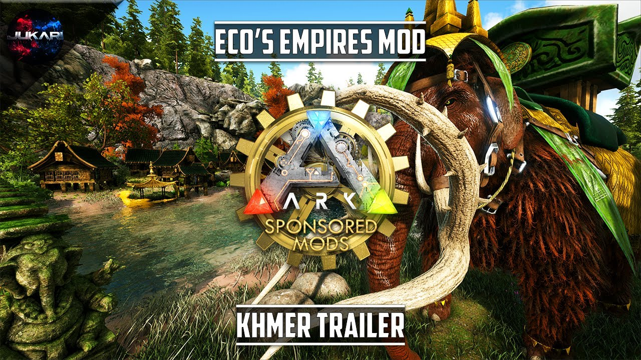ecoModsGames is creating ARK & ATLAS modded content | Patreon