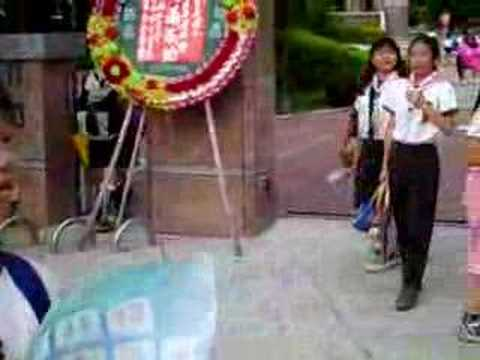 Jamie in Tainan school