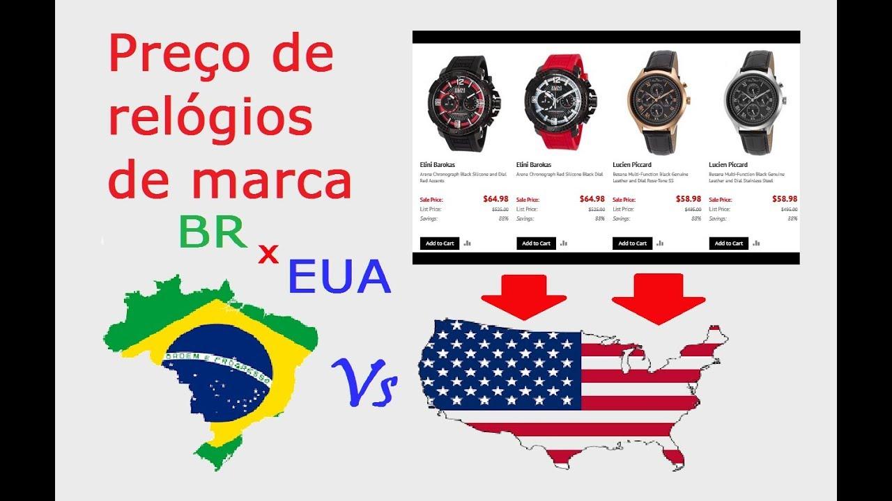 98ac4951920 🔵 Preço de Relógios de Marca - EUA - YouTube