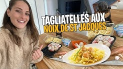 🔴 LIVE - Tagliatelles aux Noix de saint Jacques  !   🤤
