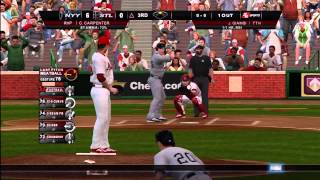 Lets Play MLB 2K8 With Lane Pt 1